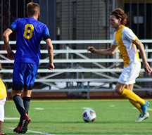 Men's soccer swipes second place in PSAC after win over Millersville