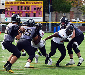 Football falls to top PSAC team Indiana