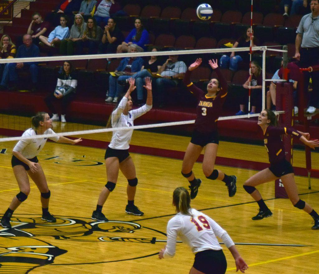 Gannon+volleyball+on+eight-game+hot+streak