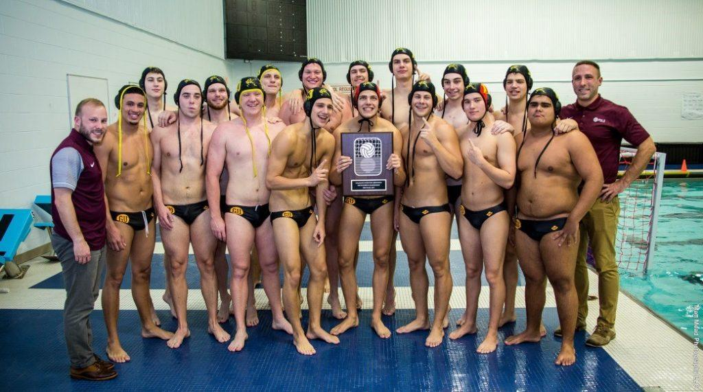 Men's water polo wins CWPA Championship
