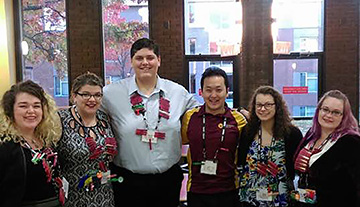 Gannon University's RHA visits national conference