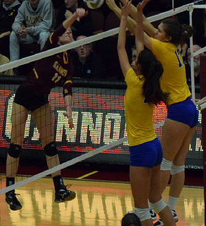 Gannon volleyball opens NCAA Tournament with 3-1 win