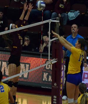 Volleyball defeats Wheeling Jesuit University in NCAA Division II Atlantic Regional Tournament