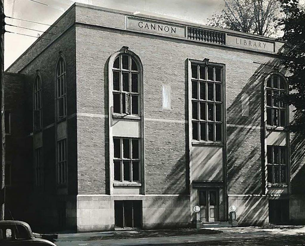 The+Gannon+Library%3A+1948