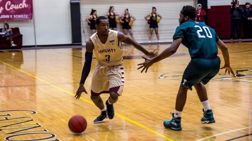 Men's basketball falls, bounces back with win