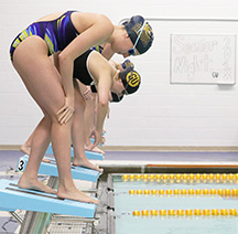 Swimming, diving head to PSAC competition