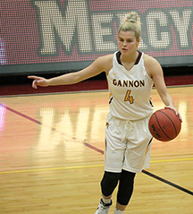 Women's basketball splits Seton Hill, IUP games