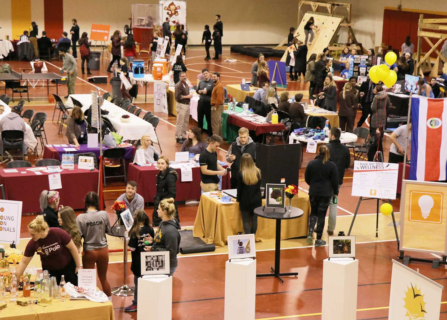 Gannon community celebrates at Wellness Fair