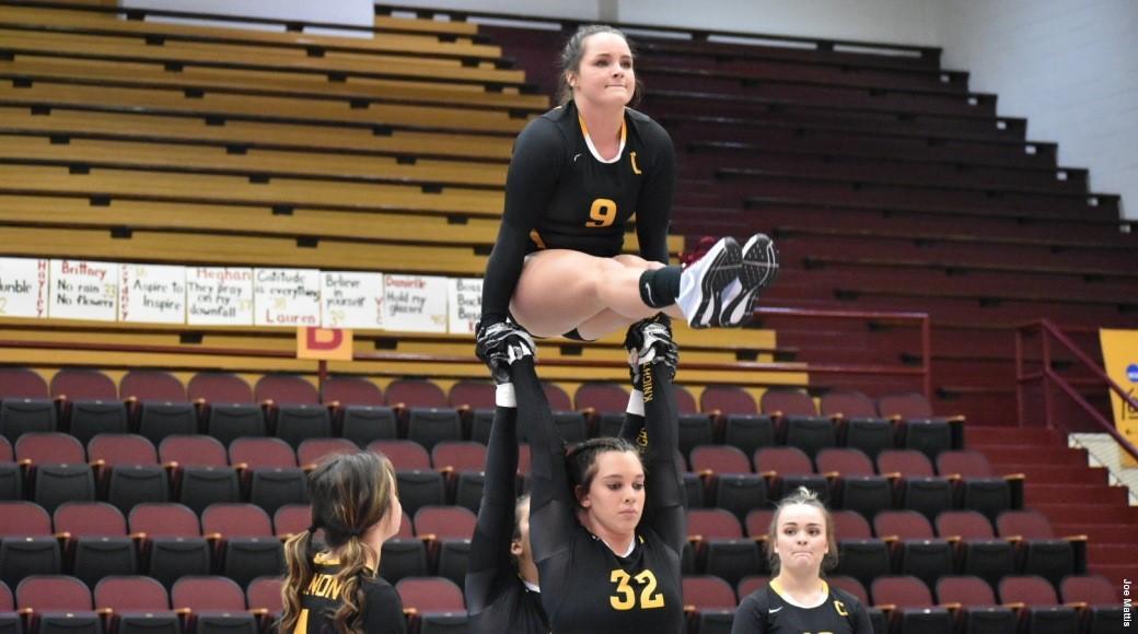 Gannon's acrobatics and tumbling team begins season 3-0