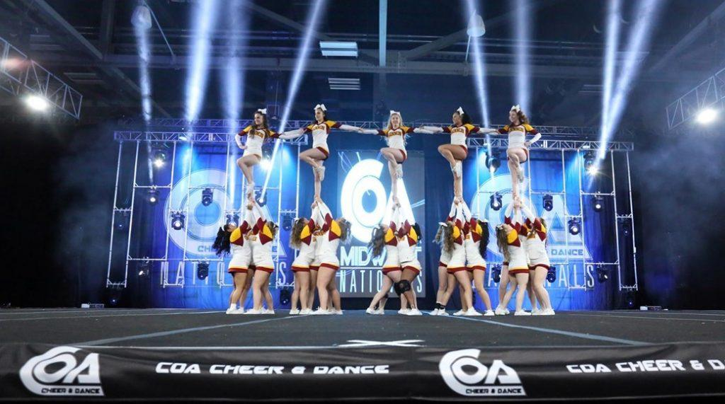Competitive cheer teams find success in first meets