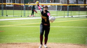 Softball splits series against Cal U, sweeps Seton Hill