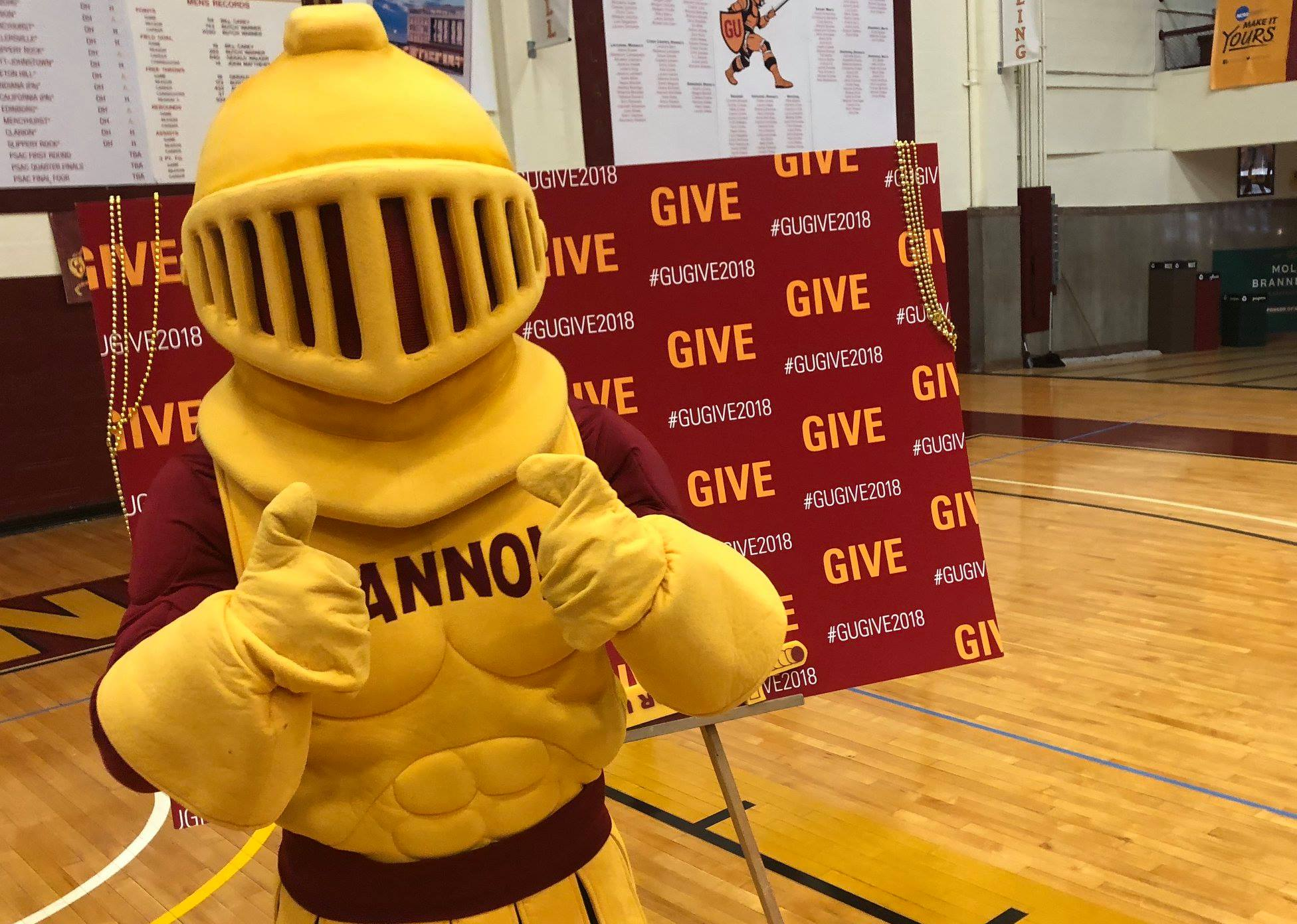 Students assemble to give back to Erie for GIVE Day
