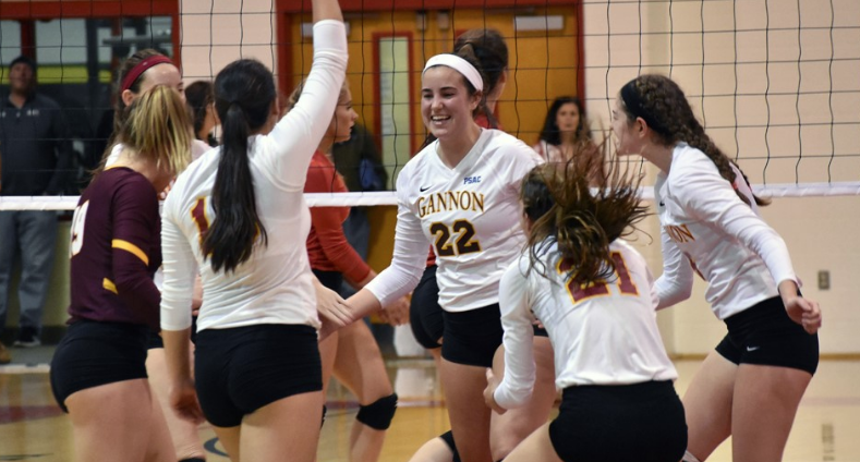 Gannon+women%E2%80%99s+volleyball+rebounds+with+3-0+sweep+of+Kutztown