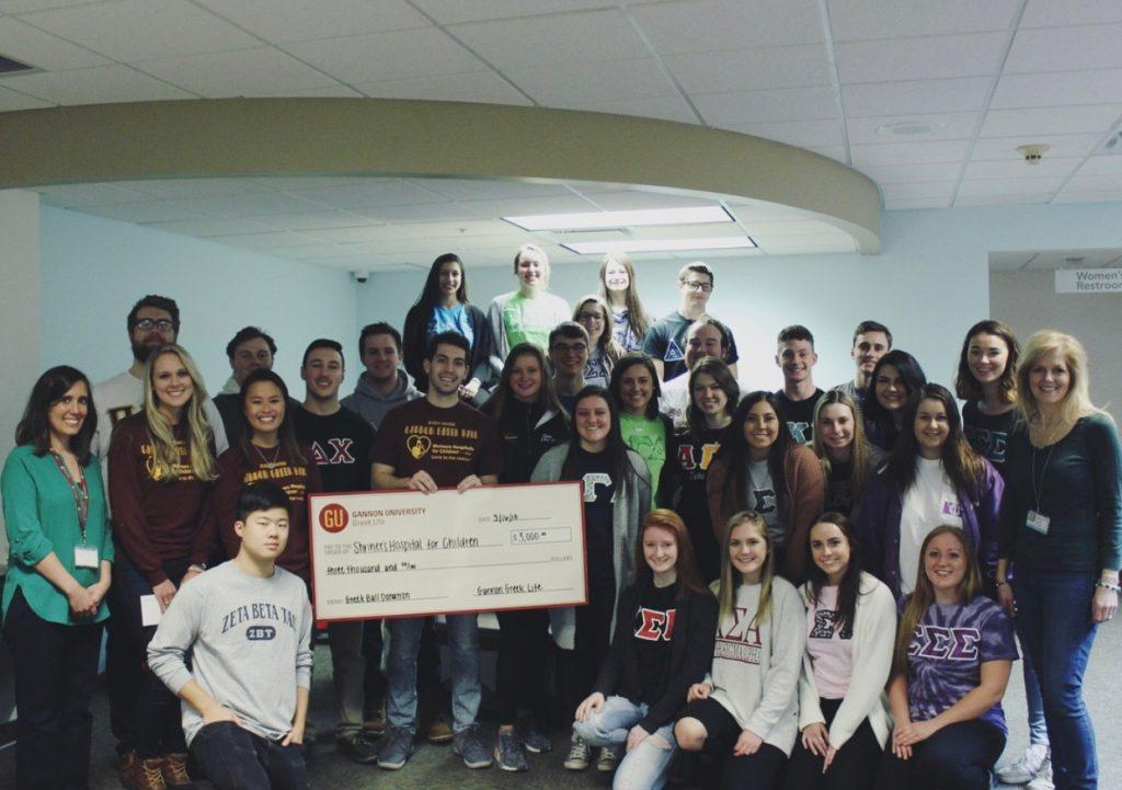 Greek Life becomes a part of the Gannon University culture