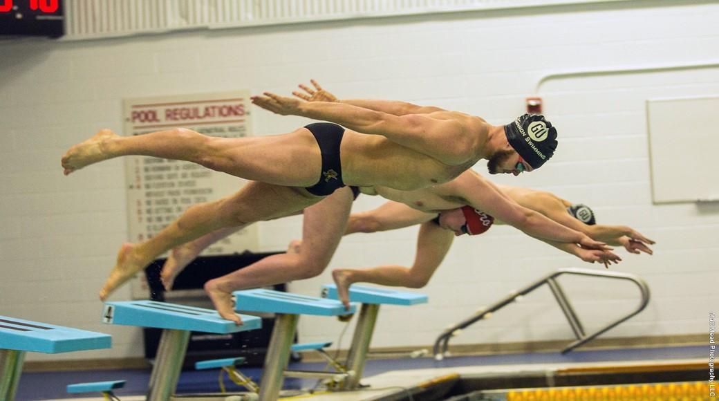 Men's, women's swimming fall to Canisius