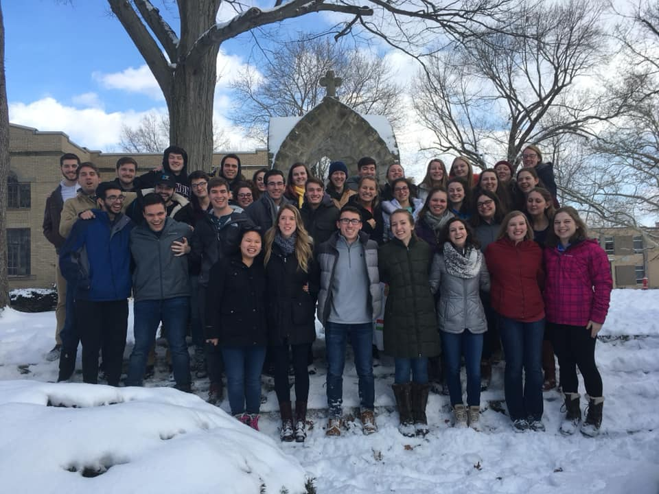 Finding God on Gannon's campus: Campus Ministry retreat provides plenty of heartfelt experiences