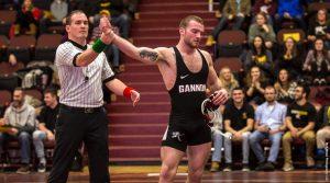 Men's wrestling team splits 2 PSAC meets