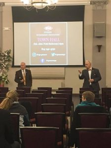 Students attend Town Hall meeting to voice concerns