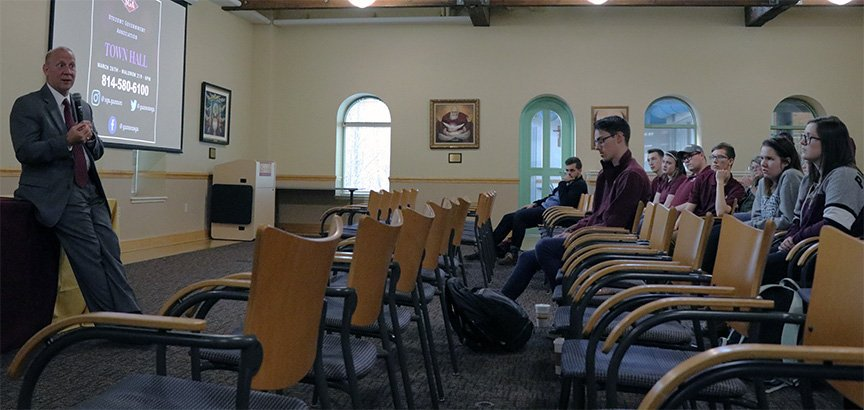 Students prepare for spring town hall meeting