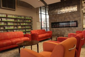 Ideal places on campus for students to study during the year