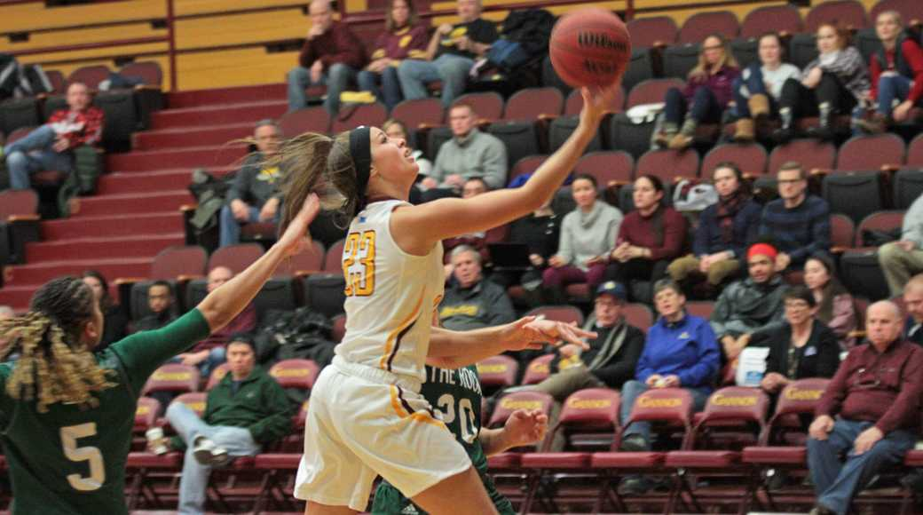 Women's basketball defeats UPJ and the Rock