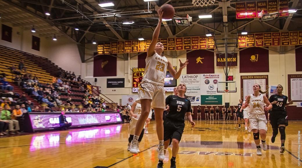 Women's basketball winning streak ends at 2