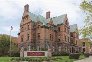 Allan Collins says 'Goodbye Gannon University'