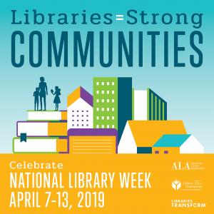 Gannon prepares to celebrate National Library Week