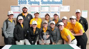 Women's golf looks to be victorious at Evann Parker Memorial tournament
