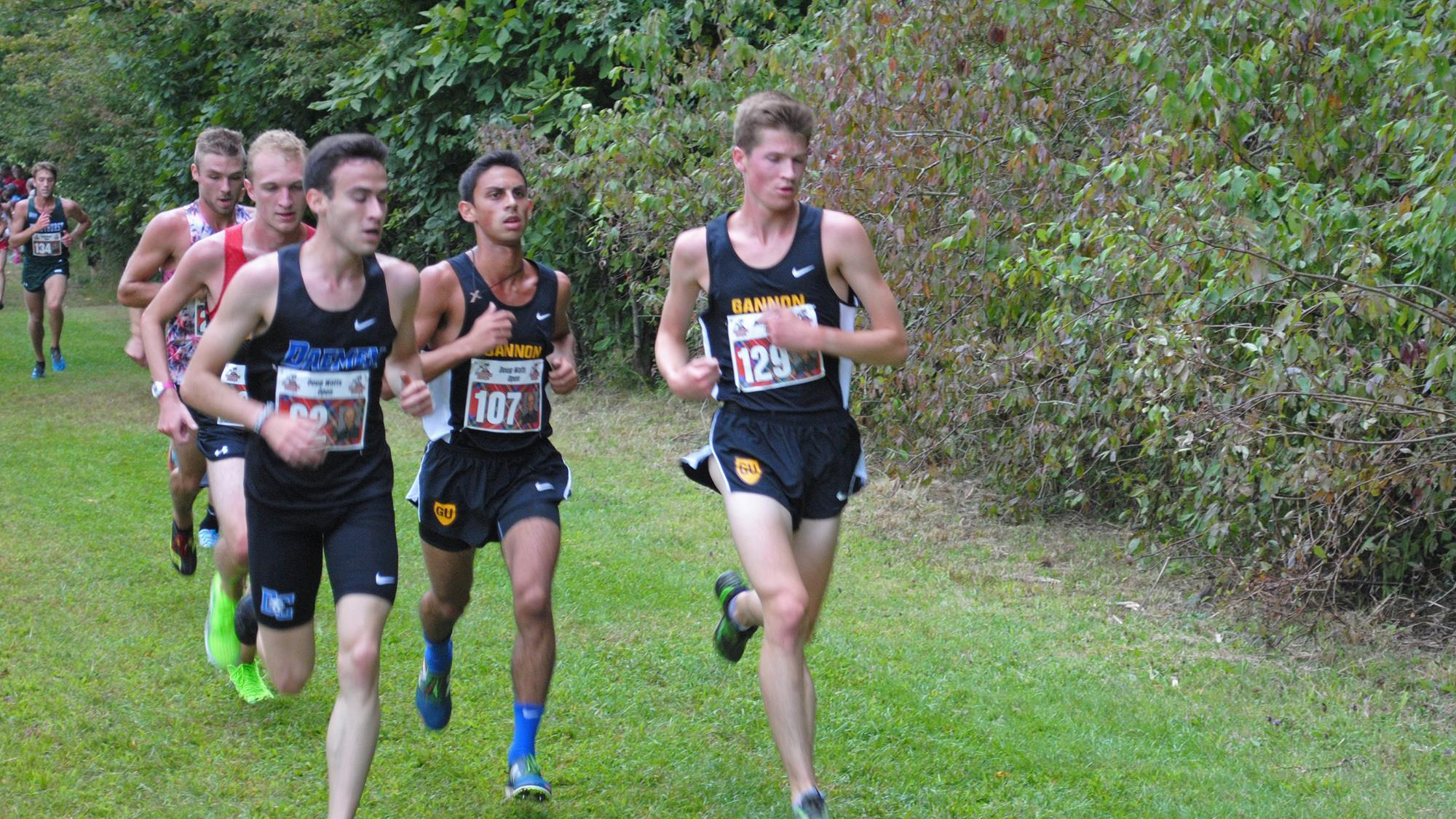 Gannon cross country teams flourish in Division  II/III Challenge