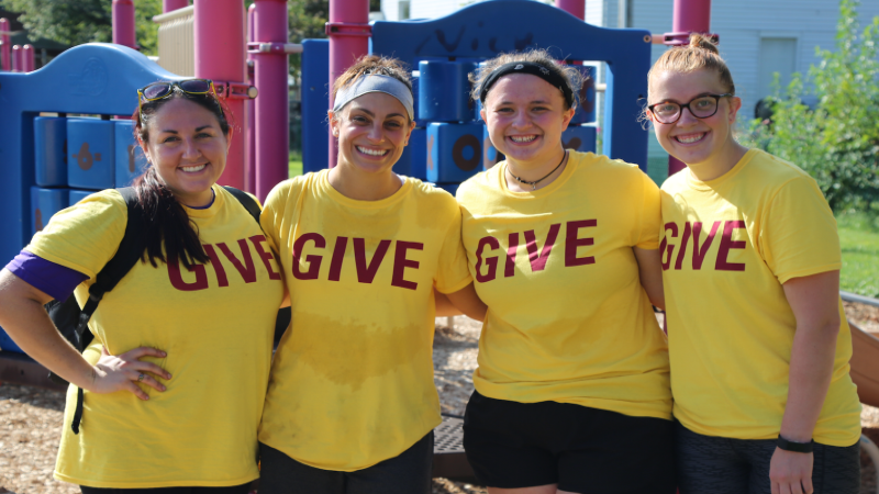 GIVE Day energizes student body