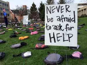 Powerful traveling exhibit seeks to break the silence surrounding suicide prevention