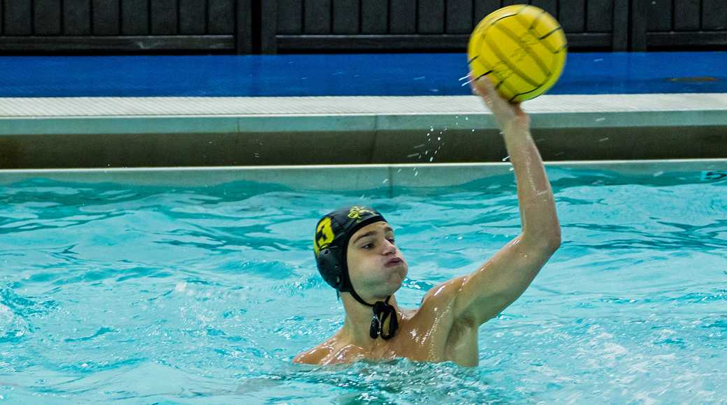 Senior men's water polo player prepares for future