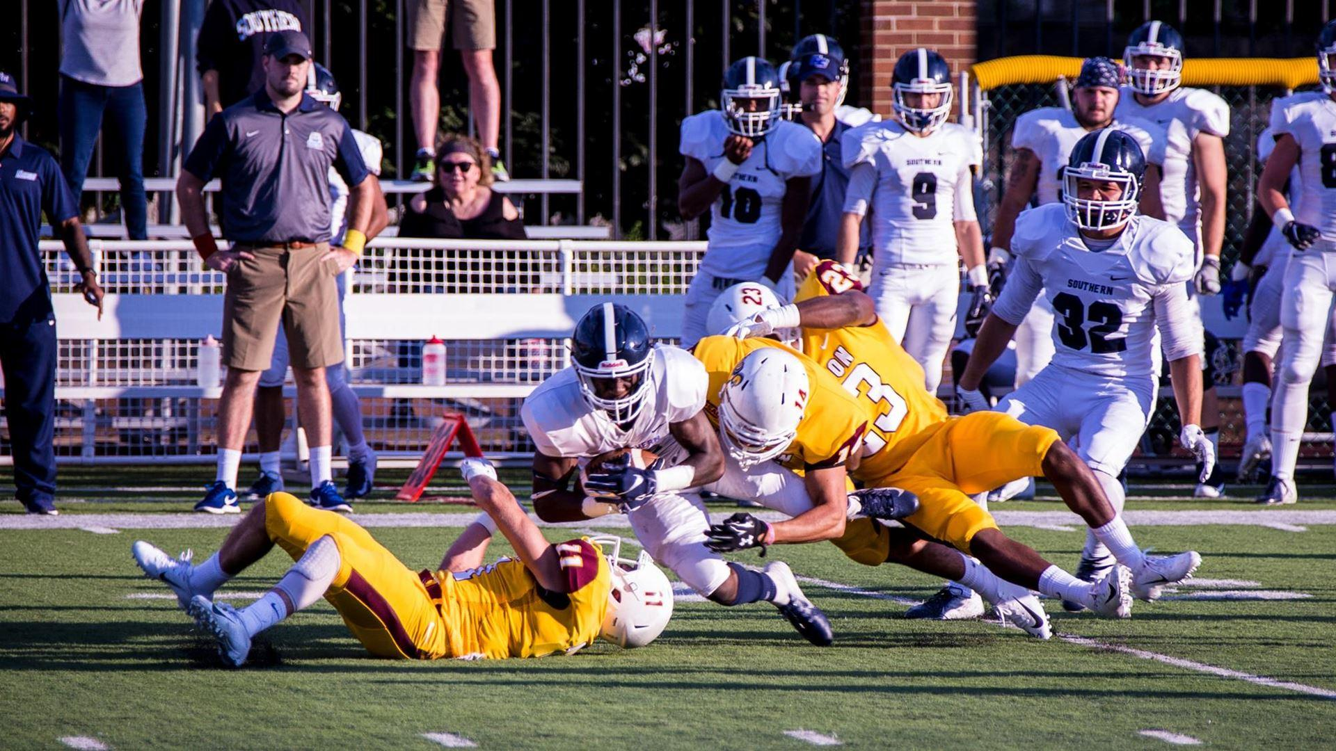 Football defeats Southern Connecticut State in season opener