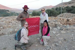 Students dig into the Jordan culture