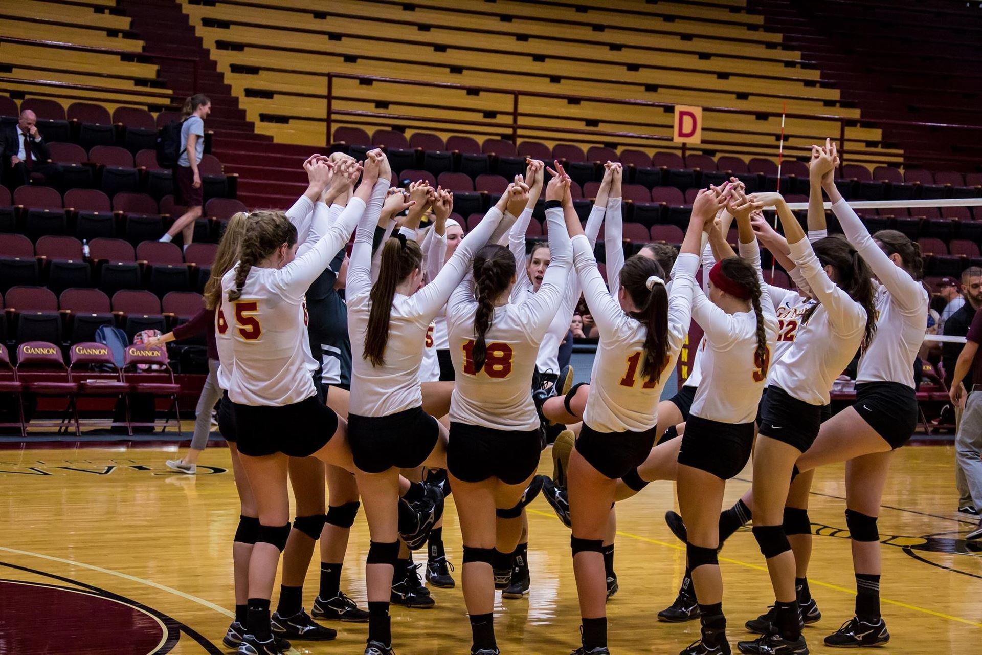 Gannon volleyball's 11-game win streak disrupted by Shepherd