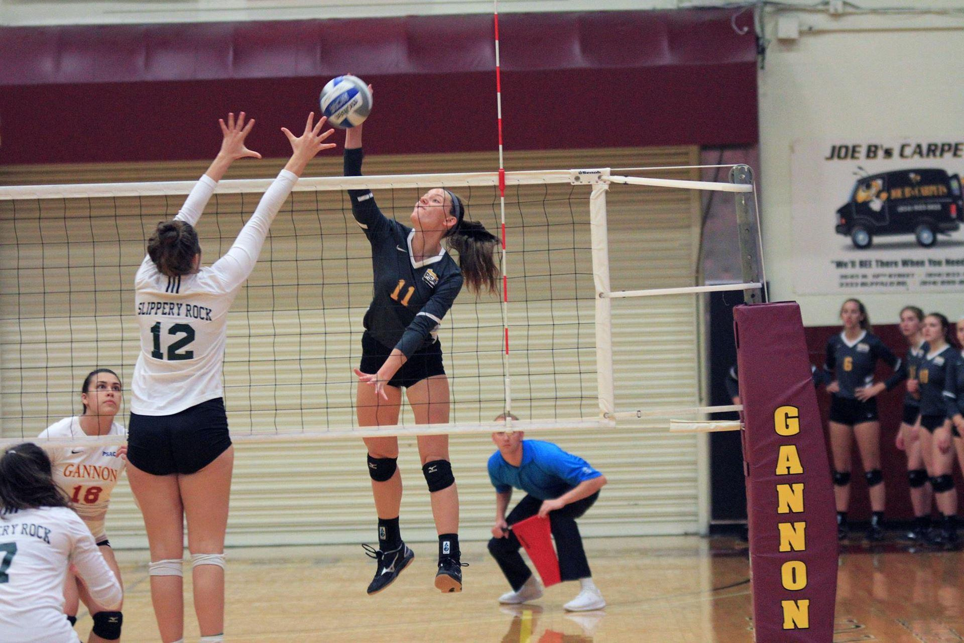 Gannon volleyball set for success with four wins in a row