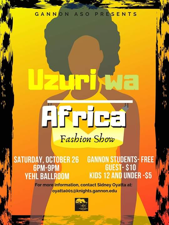 African+Student+Organization+to+host+second+annual+fashion+show
