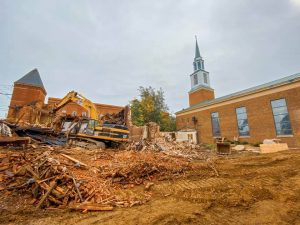 Gannon chapel undergoes changes