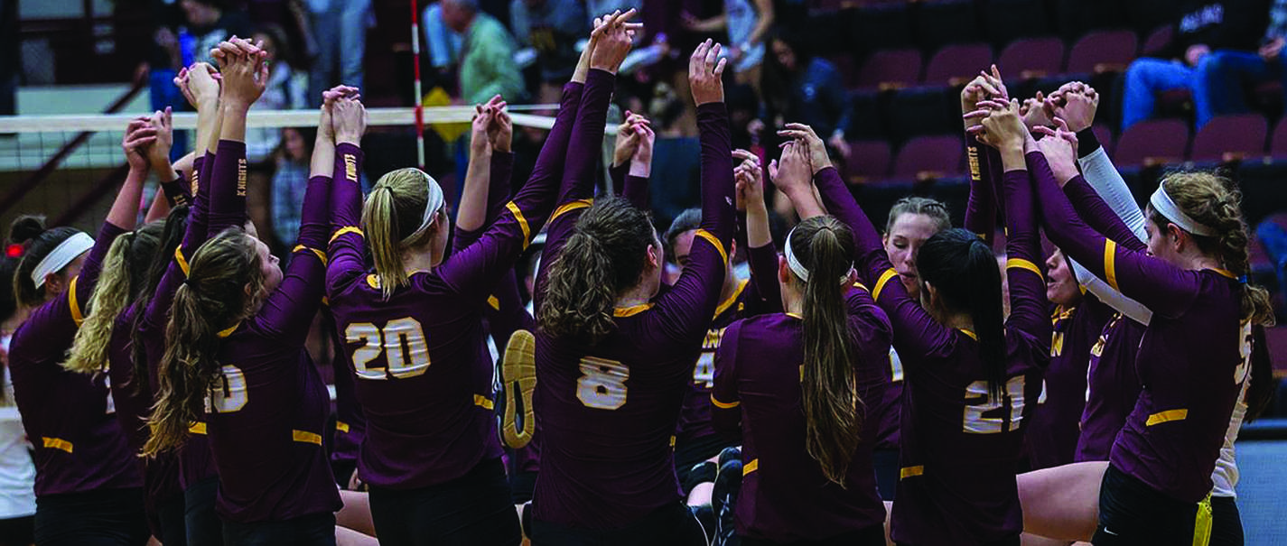 Knights volleyball team shows no signs of slowing down