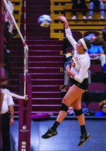 Knights volleyball destroys competition, extends win streak