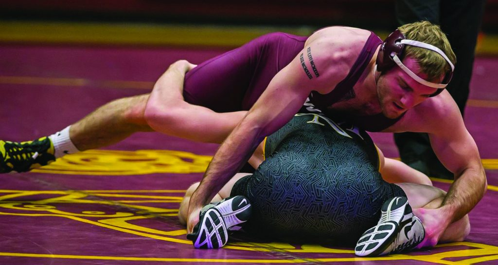 Men's wrestling on 2-meet losing streak