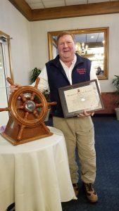 Sailing coach wins Memorial trophy