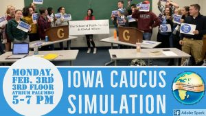Students excited to educate others at Iowa caucus simulation