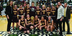 Second straight Porreco Cup for Gannon women