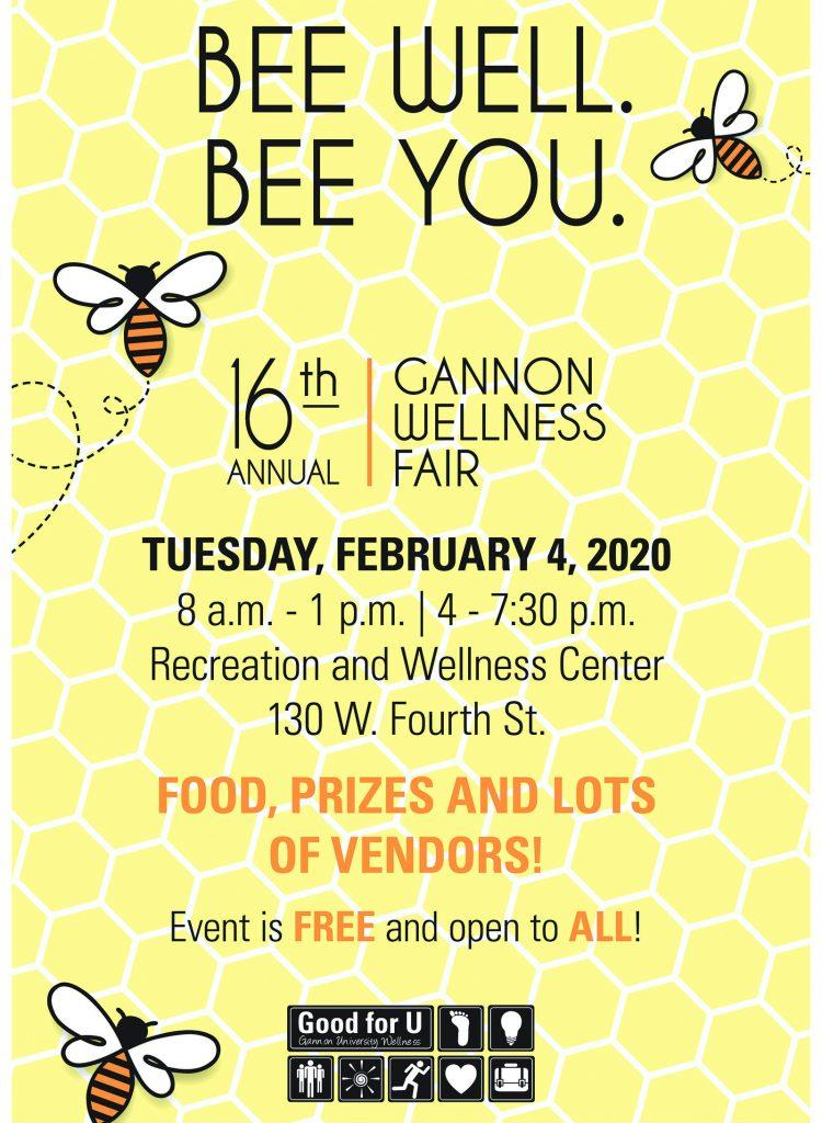 Gannon+hosts+16th+Annual+Wellness+Fair