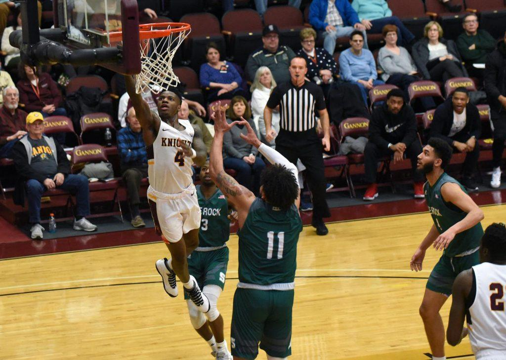 Men's basketball suffers disappointing defeat against Slippery Rock