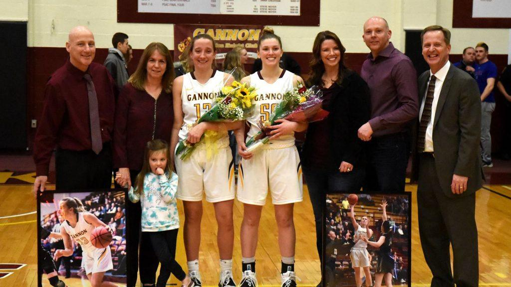 Women's basketball celebrates Senior Night with decisive win