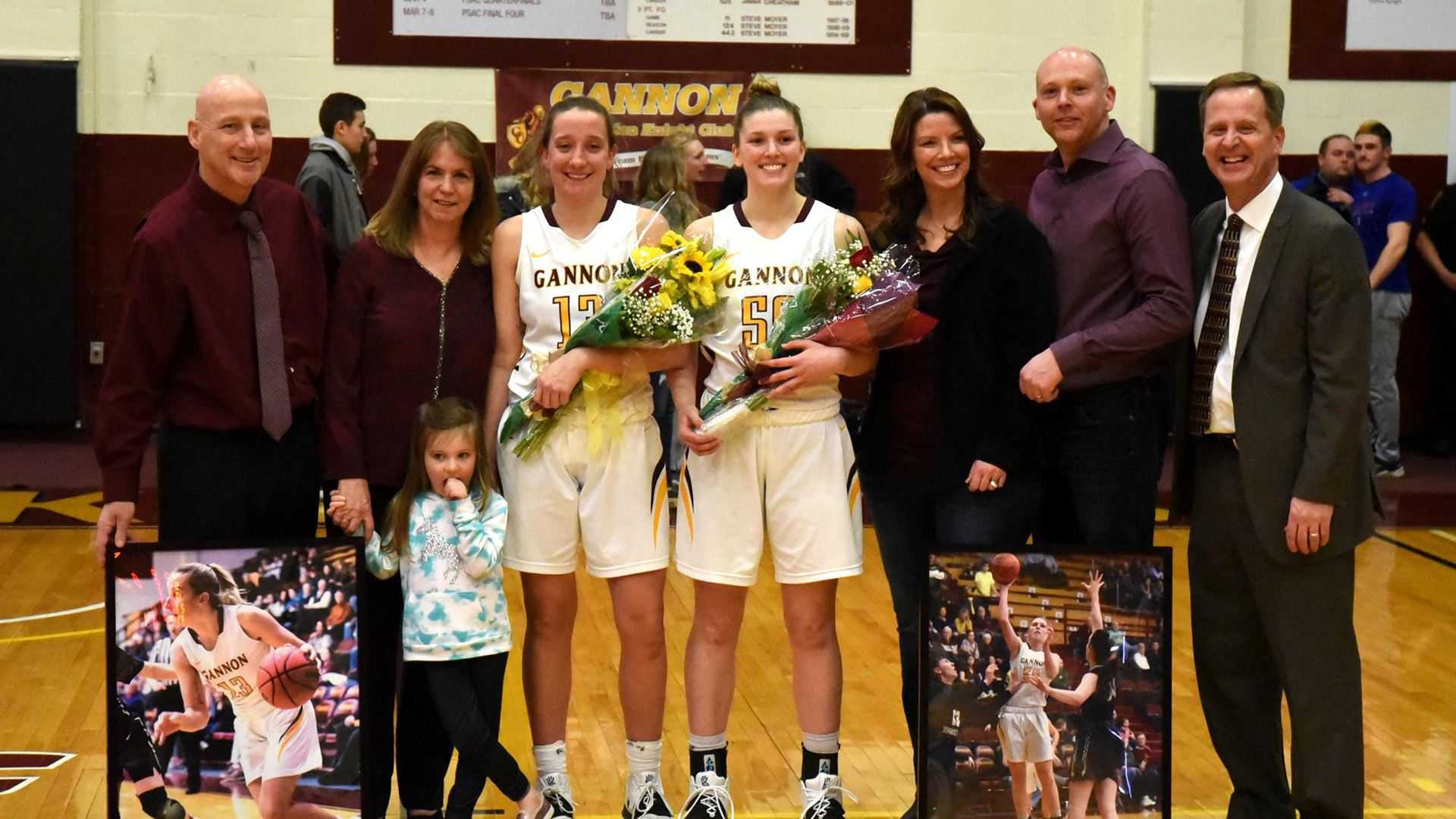 Women's basketball celebrates Senior Night with decisive win