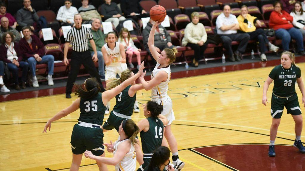 Women's basketball shows up big, wins Porreco Pride of Erie Game